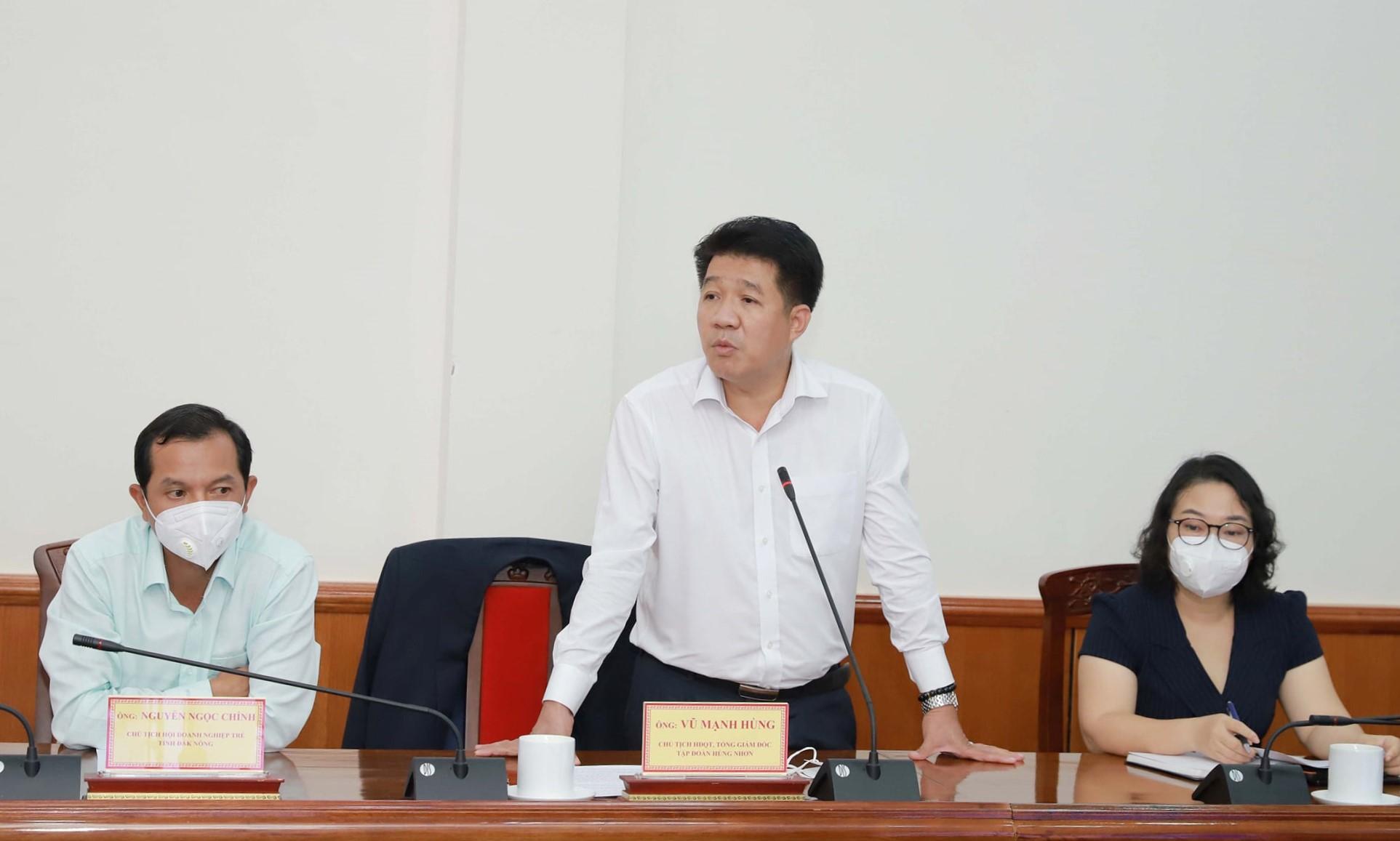 Ông Vũ Mạnh Hùng – Chủ tịch Tập Đoàn Hùng Nhơn.