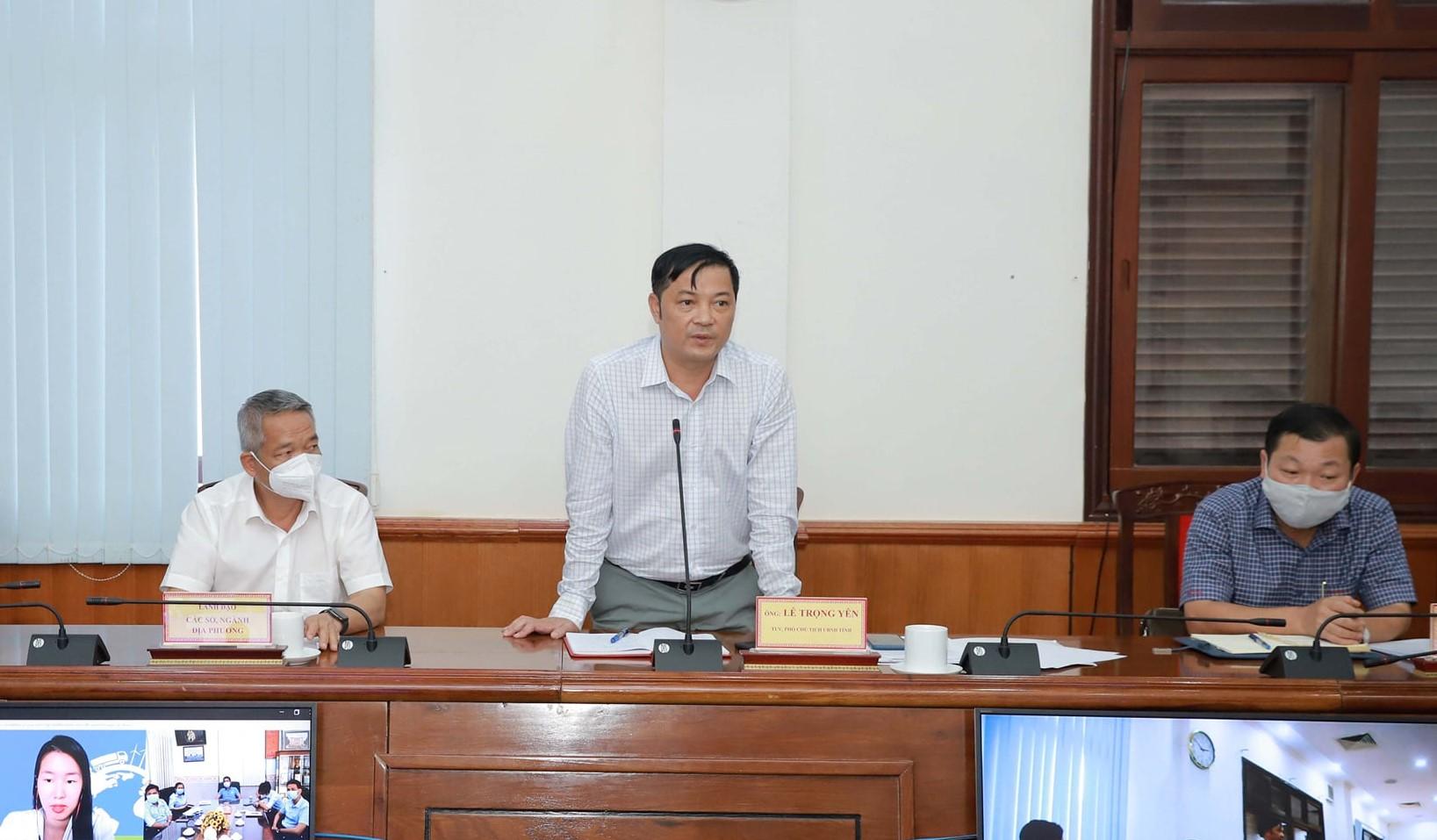 Ông Lê Trọng Yên - Phó Chủ Tịch UBND tỉnh Đắk Nông.