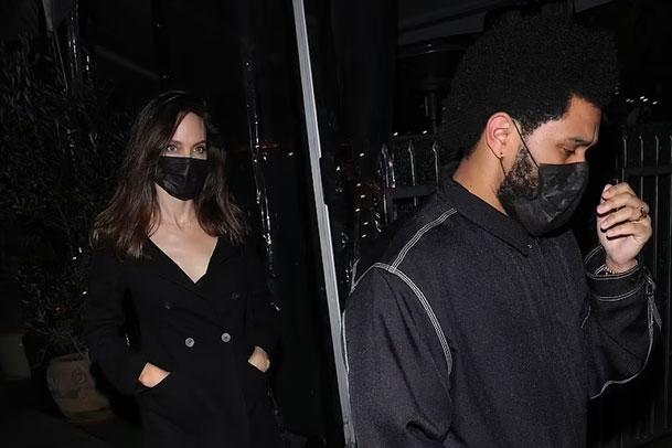 Angelina Jolie - The Weeknd