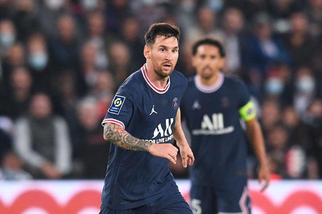 Tiền đạo: Lionel Messi (PSG).