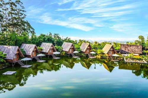 Thành phố Bandung, Indonesia.