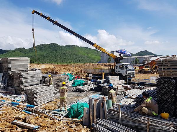 Các nhà thầu xây dựng cam kết đưa dự án đi vào hoạt động từ tháng 6/2022
