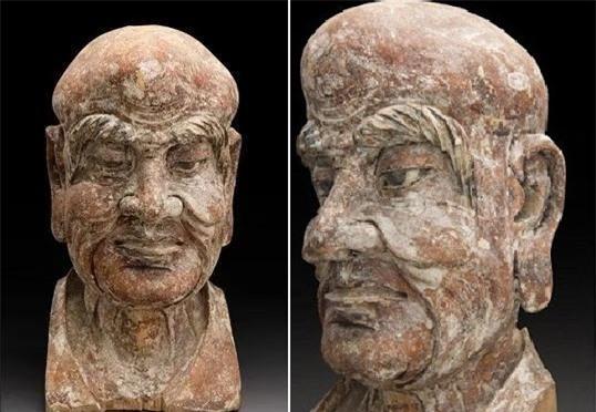 Thẩm định tượng gỗ cổ 600 năm được đấu giá, chuyên gia phát hiện bí mật ẩn bên trong, cả khán phòng cũng phải ồ lên bất ngờ - Ảnh 1.