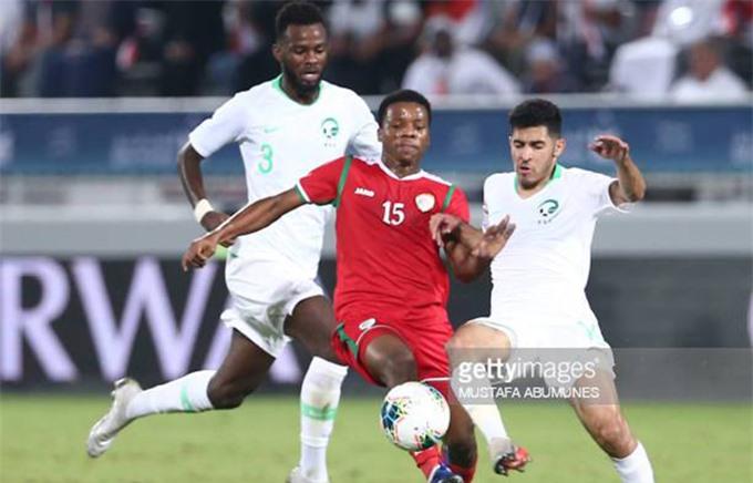 Tiền đạo Rabia Al Mandhar đang là chân sút tốt nhất của Oman