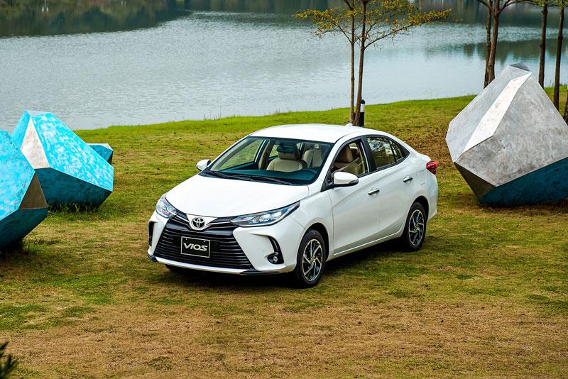 Toyota Vios 2021.
