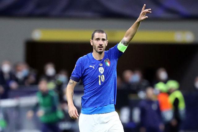 Trung vệ: Leonardo Bonucci (Juventus, Italia).