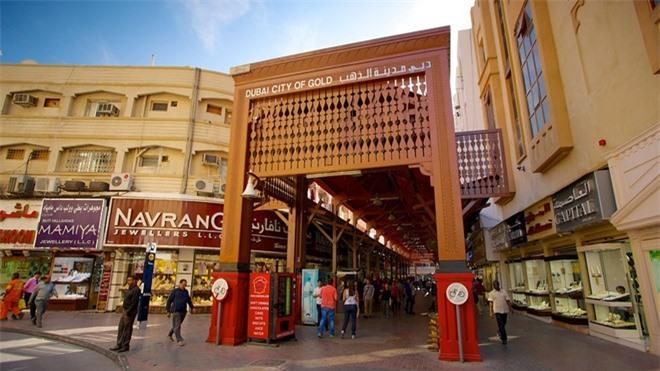 Độc đáo khu chợ vàng lớn nhất thế giới ở Dubai