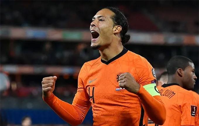 Van Dijk đóng góp 1 bàn