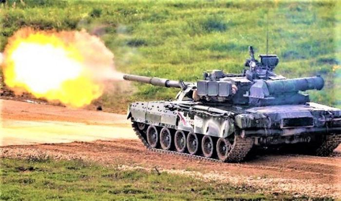 Tăng T-14 Armata có tầm bắn xa vô địch thế giới 1