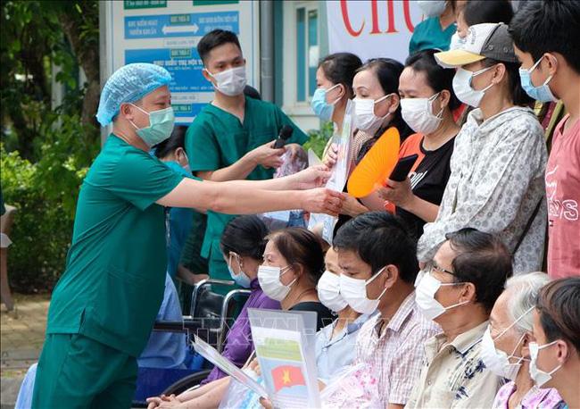 Gần 784.800 bệnh nhân COVID-19 ở nước ta đã khỏi. (Ảnh minh họa: TTXVN)