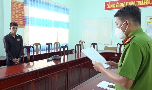 Đối tượng Nguyễn Trọng Hửu.