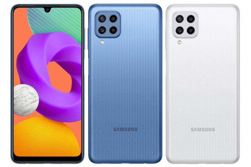 Samsung Galaxy M22.