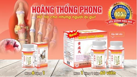 Thực phẩm bảo vệ sức khỏe Hoàng Thống Phong.