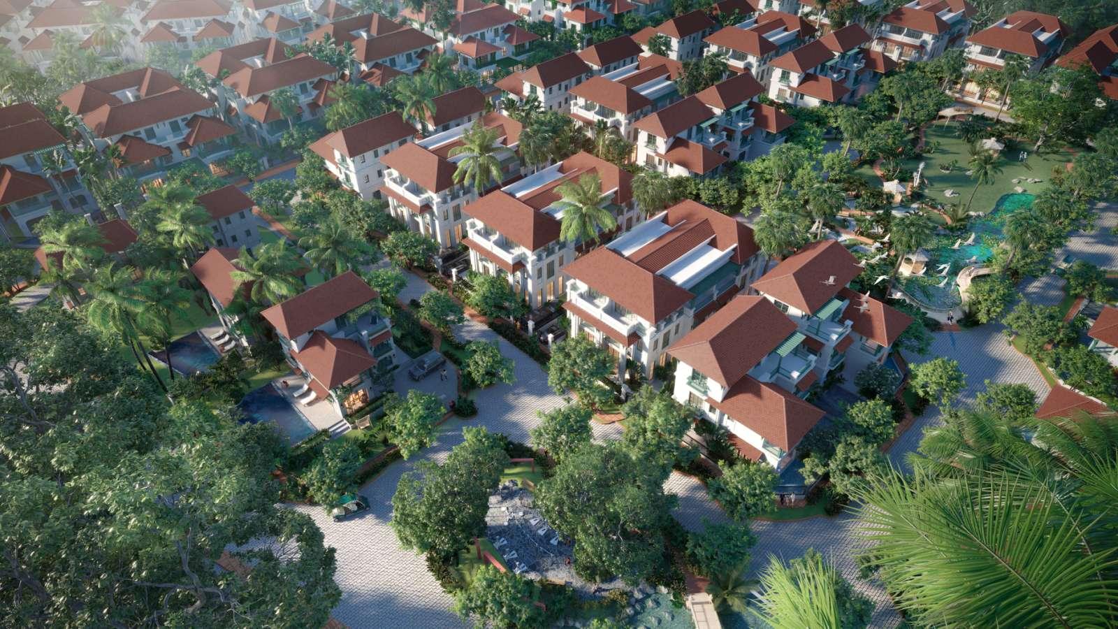 Chính sách ưu đãi hấp dẫn chưa từng có đang được áp dụng cho cư dân Sun Tropical Village tương lai. (Ảnh phối cảnh minh họa)