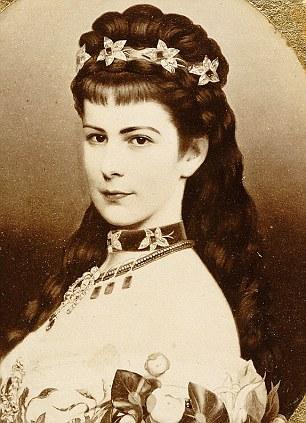 Chân dung xinh đẹp của Hoàng hậu Sisi.