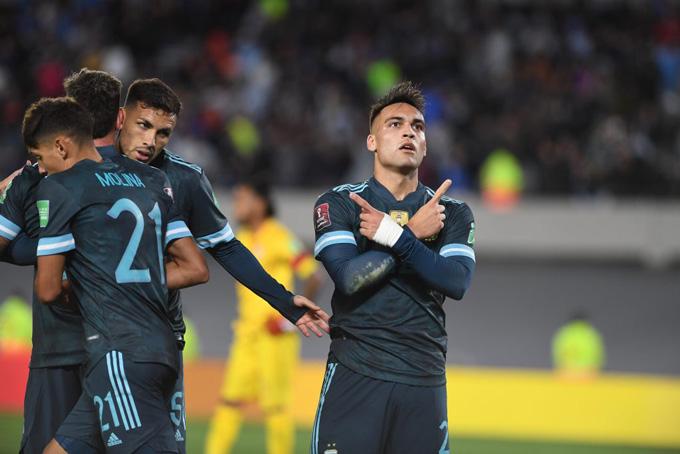 Lautaro Martinez ghi bàn duy nhất, Argentina nhọc nhằn giành 3 điểm
