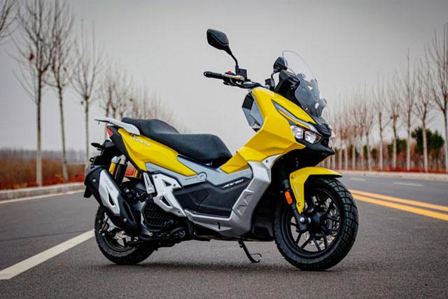 """Xe tay ga Trung Quốc """"nhái"""" Honda ADV 150, giá 62 triệu đồng"""