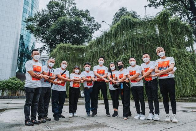 Phương Thanh, Hoa hậu H'Hen Niê và hơn 100 nghệ sỹ hòa ca xúc động hát về tình nguyện viên cùng nhau chống dịch
