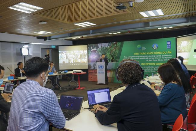 Khởi động Dự án 30 triệu USD về thích ứng với biến đổi khí hậu ở Tây Nguyên và duyên hải Nam Trung Bộ