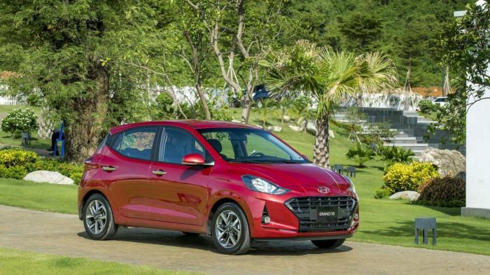 Giá lăn bánh Hyundai Grand i10 sau khi được giảm 32 triệu đồng