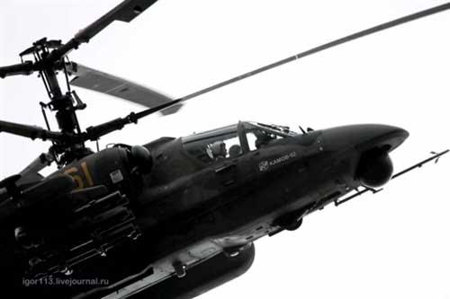Trực thăng Ka-52M nâng cấp có giá cao hơn tiêm kích Su-30SM