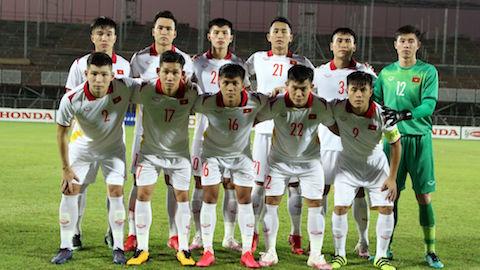 HLV Park Hang Seo thử nghiệm bất thành sơ đồ 4 hậu vệ ở U23 Việt Nam