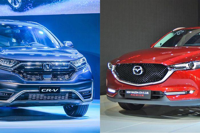 Mua xe SUV tầm giá 1 tỷ đồng, chọn Mazda CX-5 hay Honda CR-V?