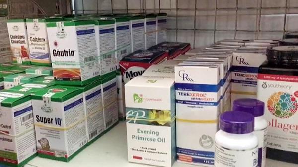 An Giang: Phát hiện nhà thuốc bán lượng lớn thực phẩm chức năng không rõ nguồn gốc