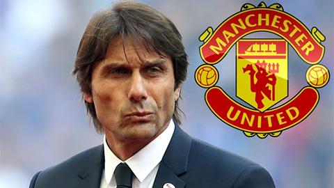 Antonio Conte kiên trì chờ lời mời từ MU