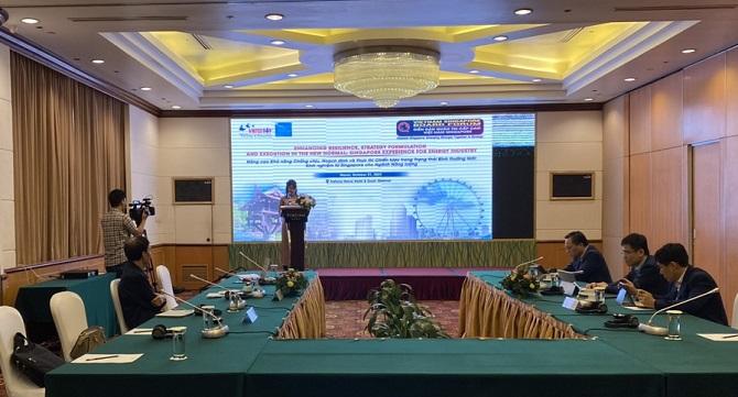 Khởi động diễn đàn cấp cao Việt Nam – Singapore chia sẻ giải pháp quản trị doanh nghiệp năng lượng