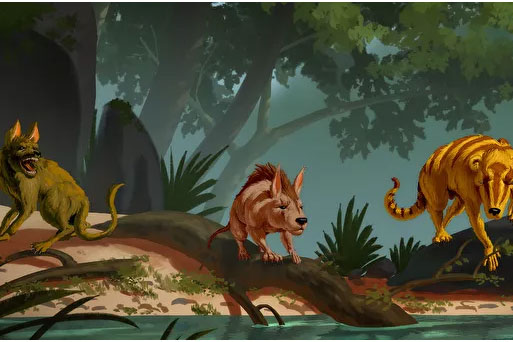 3 loài động vật có vú cổ đại xuất hiện sau khi khủng long tuyệt chủng