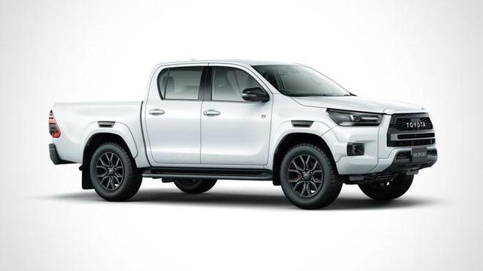 Cận cảnh Toyota Hilux GR Sport 2022