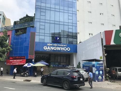 Bệnh viện Thẩm mỹ Gangwhoo từng bị xử phạt do vi phạm quy định ngành nghề