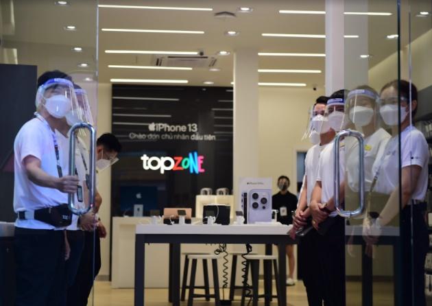 Chính thức ra mắt chuỗi bán lẻ sản phẩm Apple TopZone