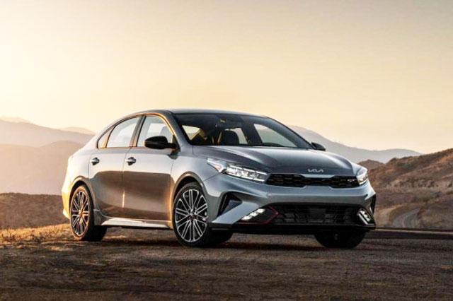 Kia Forte 2022 trang bị động cơ tăng áp, giá từ 457 triệu đồng