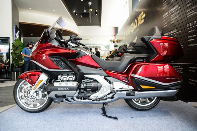 Chi tiết Honda Gold Wing 2021, giá hơn 1,2 tỷ đồng tại Việt Nam