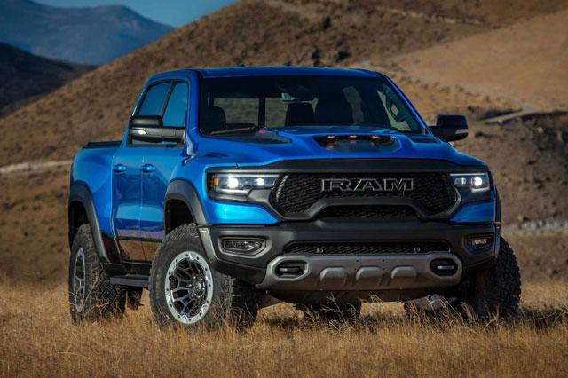 Top 10 xe bán tải đắt nhất trên thị trường: Ram 1500 TRX đầu bảng