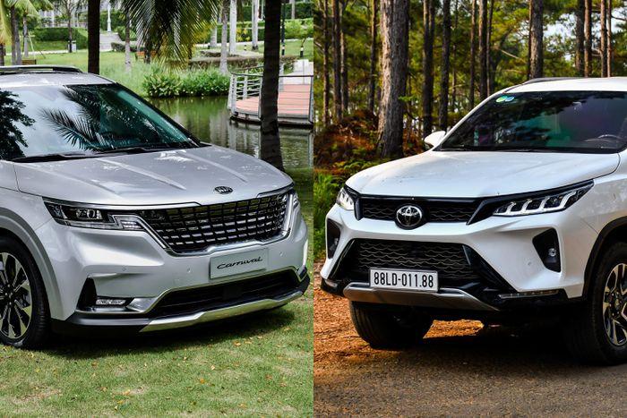 Mua xe 7 chỗ tầm 1,4 tỷ đồng, chọn Kia Carnival hay Toyota Fortuner?