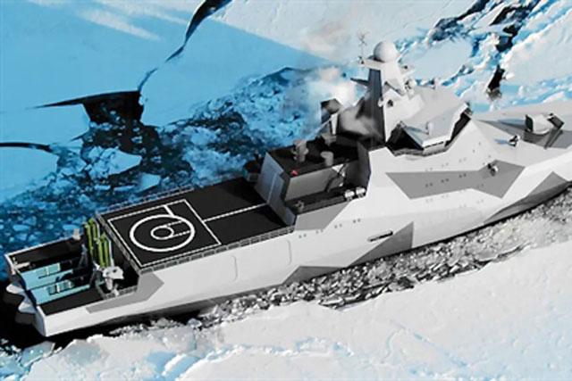 Tàu Ivan Papanin sẽ nhận tổ hợp tên lửa trong container Kalibr-K