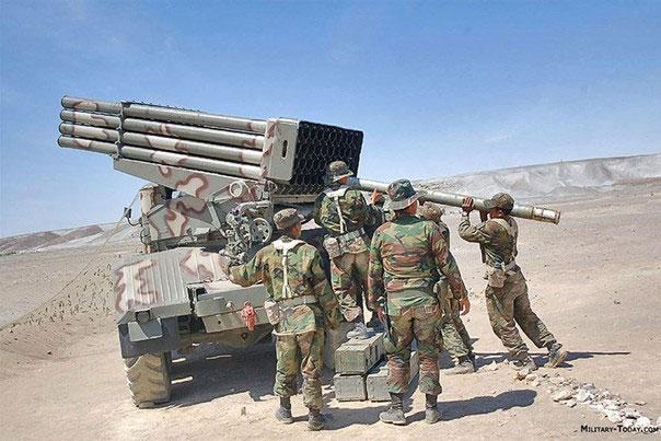SAA chuyển T-90 và Grad, sẵn sàng đánh lớn với Thổ