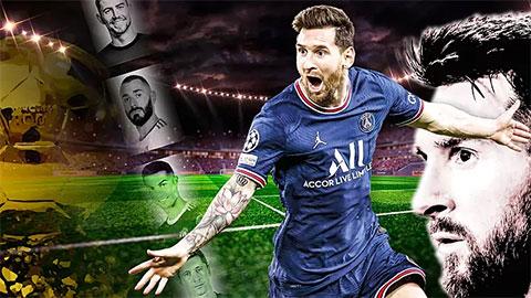 Messi không có đối thủ trong cuộc đua giành Quả bóng vàng 2021