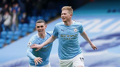 Man City vượt mặt Liverpool trên BXH UEFA, Man United xuống thứ 9
