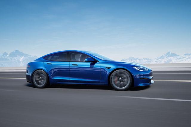 Top 10 ôtô điện nhanh nhất năm 2021: Tesla Model S không đối thủ