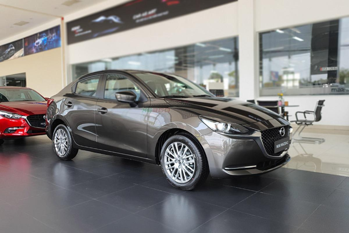 Giá lăn bánh Mazda2 sedan sau khi được ưu đãi 50% lệ phí trước bạ