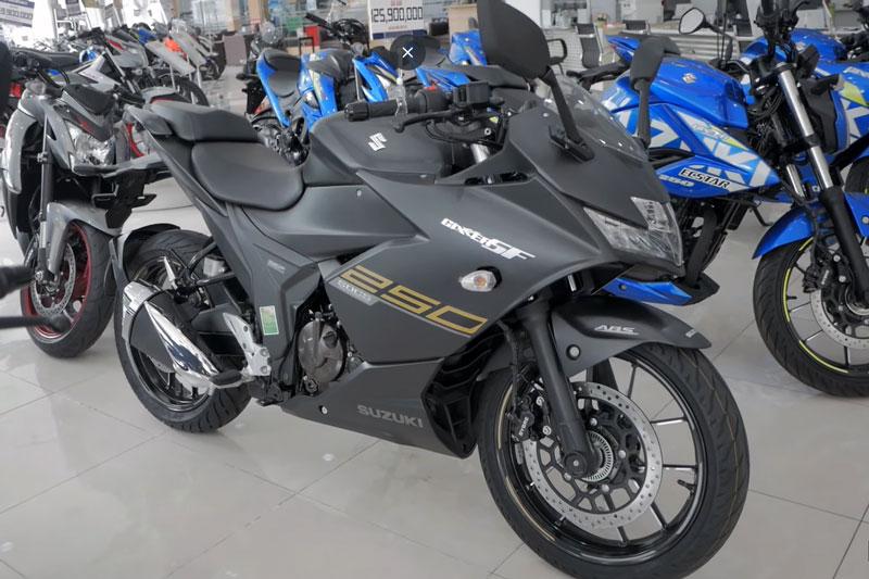 'Soi' Suzuki Gixxer SF 250 giá 125,9 triệu tại Việt Nam