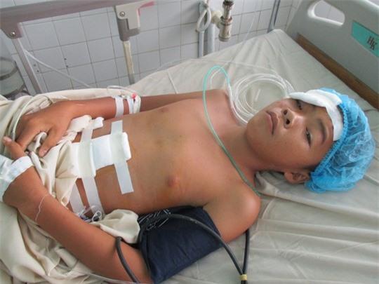 Hiện sức khỏe của em Nam đã hồi phục sau ca phẫu thuật