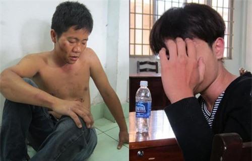Hai tên cướp nguy hiểm Lê Hoàng Minh và Thái Tống Thanh Hoà. Ảnh: Kiến thức