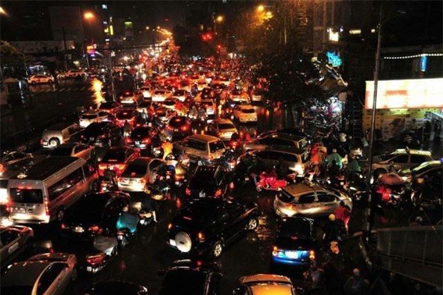 Hà Nội, mưa, tắc đường