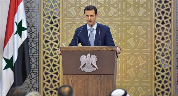 Tổng thống Syria Bashar Assad.