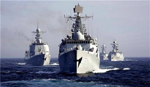 Tàu chiến thuộc Hạm đội Caspi của Nga.